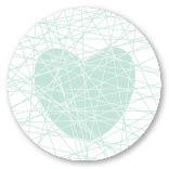 Sticker Love Mint