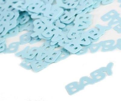 Confetti 'baby' blauw