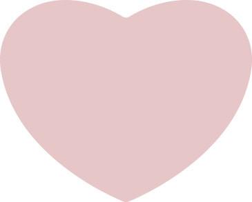 Sticker hartjes vorm lichtroze 10 stuks (EPS)
