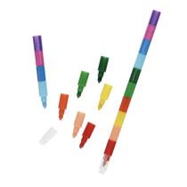 Stapel waskrijt pen