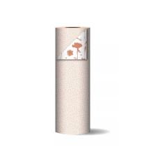 Kadopapier Cubes Peach/Roest (CW)