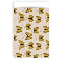 Kadozakje Butterfly Okergeel 12x19 cm 5 stuks
