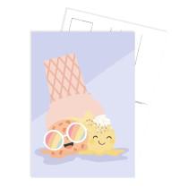 Kaart ijsje (TK)