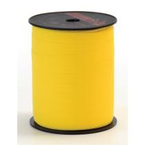 Paperlook lint geel 5 meter