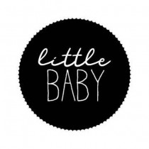 Sticker Little Baby 10 stuks