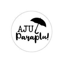 Traktatie-sticker Aju Paraplu 5 stuks (KP)