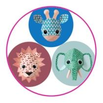 Stickers Wild animal 10 stuks