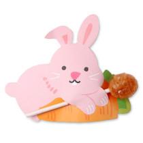 Lollykaartje konijntje 5 stuks