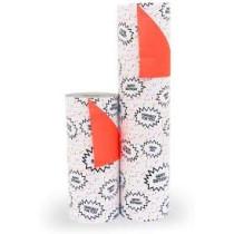 Inpakpapier confetti fluor