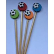Houten Voetbal potlood