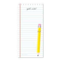 lang notitieblokje Yeah write