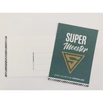 Super Meester kaart CW