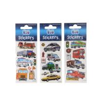 Luxe Stickervel met voertuigen