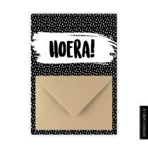 Enveloppekaart Hoera (HK)