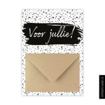 Enveloppekaart Voor jullie (HK)
