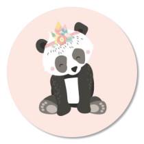 Sticker Boho Panda 10 stuks (TK)