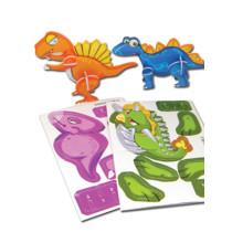 Dino Puzzelkaart