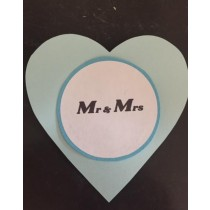 Hart label MR & MRS