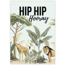 Kaart Hip Hip Hooray Jungle (GX)