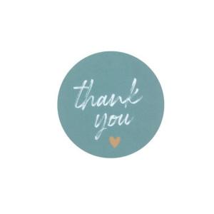 Sticker Thank you 10 stuks (BYSS)