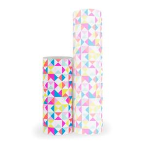 Kadopapier neon blocks