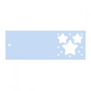 Label sterren blauw