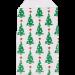 Kadozakje kerstboompjes groen/rood 5 stuks
